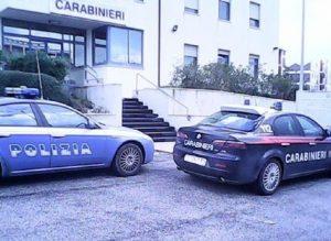 Verolanuova (Brescia): moldavo fermato devasta la sala d'aspetto della caserma (foto d'archivio Ansa)