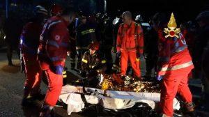 Corinaldo (Ancona), 7 feriti gravi e un brutto timore: i morti possono aumentare