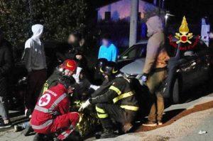 Discoteca Corinaldo, i sette feriti gravi sono tenuti in coma farmacologico (foto Ansa)