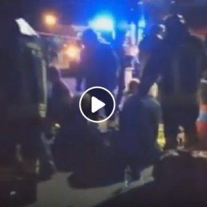 Corinaldo (Ancona): l'intervento dei vigili del fuoco fuori dalla discoteca Lanterna Azzurra