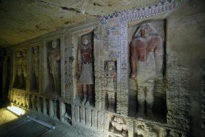 Egitto, scoperta tomba di un sacerdote reale risalente a 4.400 anni fa FOTO