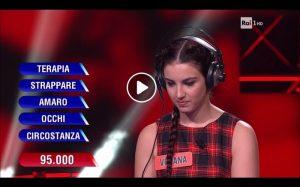 A L'Eredità, Viviana Filomena vince con una soluzione scontata. E sui social...
