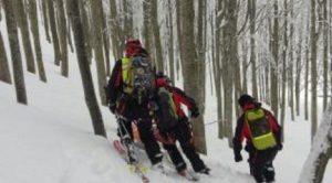 Tarvisio (Udine), trovati morti i due escursionisti dispersi sul Monte Lussari (foto Ansa)