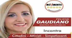 Felicia Gaudiano. Senatrice M5S in tribunale: deve 45mila euro al condominio per la casa ereditata