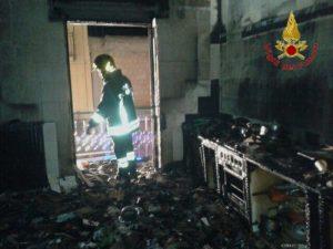 Monterchi (provincia di Arezzo), incendio in casa: 2 morti e 2 feriti