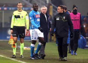 Cori razzisti a Koulibaly, Inter-Napoli non sospesa per evitare altri scontri