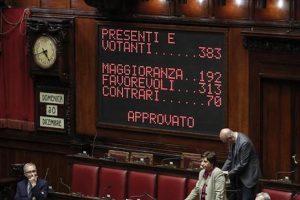 Manovra, sì definitivo alla Camera. Pd e Leu non votano. Conte abbraccia i ministri