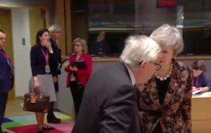 Lite Juncker- Theresa May