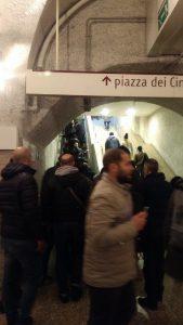 Roma, zaino abbandonato nella stazione Cinecittà: metro A chiusa1