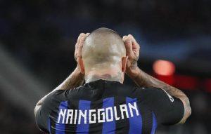 """Nainngolan, Spalletti: """"Mi dispiace per il provvedimento ma le regole valgono per tutti"""" (foto Ansa)"""
