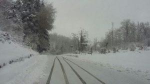 Toscana, allerta neve nelle province di Firenze, Lucca, Massa-Carrara, Pistoia e Prato (foto Ansa)