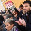 """Manovra, Pd in piazza davanti alla Camera. """"Salvini-Di Maio autisti ubriachi"""" 05"""