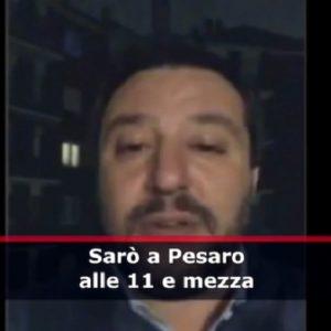 """Salvini vuole menare i mafiosi:""""li inseguirò città per città, quartiere per quartiere, palazzo per palazzo"""" VIDEO"""
