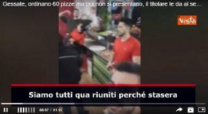 Gessate, ordinano 60 pizze ma poi non si presentano, il titolare decide di darle ai senzatetto VIDEO