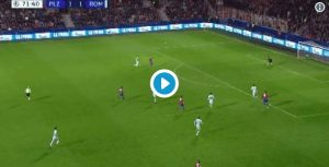 Viktoria Plzen-Roma 2-1 highlights e pagelle, Under non basta. Pastore e Santon flop