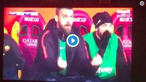 Roma batte Genoa ma quanta sofferenza... De Rossi esplode di gioia in panchina