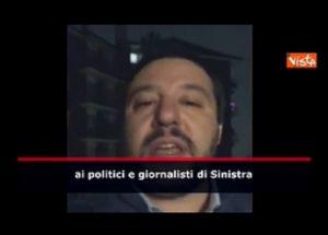 """Matteo Salvini insultato per pane e Nutella. Lui: """"Sì confesso, mi piace la cioccolata e le girelle"""" (VIDEO VISTA"""
