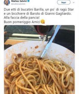 """Salvini, lo chef Circiello svela: """"Ama i piatti italiani semplici"""""""