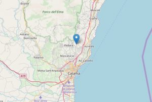 sciame sismico etna 26 dicembre