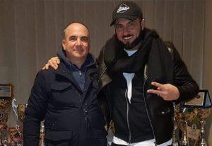 """Sossio Aruta (48 anni), l'ex tronista di """"Uomini e Donne"""" torna a giocare a calcio (foto Ansa)"""