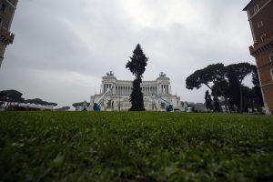 """Roma, arriva il nuovo """"Spelacchio"""": l'albero ha qualche ramo spezzato 3"""
