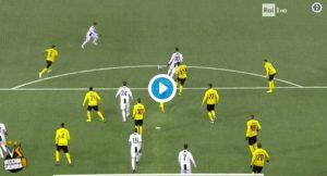 Young Boys-Juventus 2-1, VIDEO: il gol del pareggio di Dybala annullato per fuorigioco di Cristiano Ronaldo