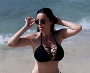 Giuseppina Alessio di Rai News alle Bahamas