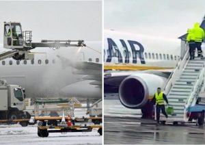 Deicing manuale con secchi d'acqua in aeroporto Brindisi: inchiesta Enac