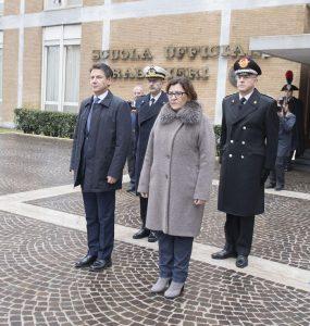 Carabinieri, inaugurazione anno accademico scuola ufficiali: presenti Conte, Trenta, Salvini 4