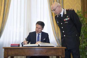 Carabinieri, inaugurazione anno accademico scuola ufficiali: presenti Conte, Trenta, Salvini 5
