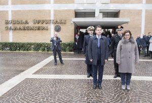 Carabinieri, inaugurazione anno accademico scuola ufficiali: presenti Conte, Trenta, Salvini 6