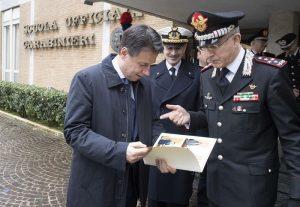 Carabinieri, inaugurazione anno accademico scuola ufficiali: presenti Conte, Trenta, Salvini 7
