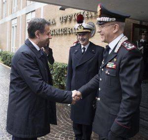 Carabinieri, inaugurazione anno accademico scuola ufficiali: presenti Conte, Trenta, Salvini 9