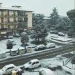 Firenze sotto la neve, foto Twitter