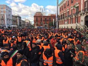 Gillet arancioni, 3mila agricoltori 1