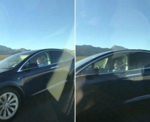 Las Vegas: Tesla ha il pilota automotico, automobilista dorme alla guida