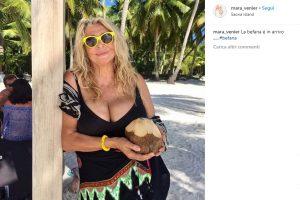 Mara Venier ai Caraibi, la FOTO in costume5