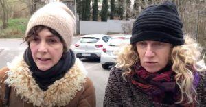 Maria Amelia Monti, Angela Finocchiaro e la raccolta differenziata a Roma. Il video tragi-comico