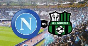 Napoli-Sassuolo, dove vedere la partita di Coppa Italia in diretta streaming o in tv