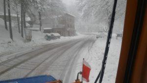 Maltempo e neve al Centro: scuole chiuse a Chieti e in Umbria