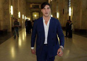 Niccolò Bettarini rinuncerà al risarcimento in caso di condanna