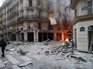 Esplosione Parigi, Valerio Orsolini di Carta Bianca tra i feriti