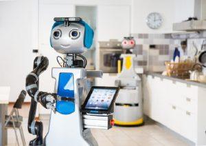 Robot e altro, che lavoro faremo? (Foto Ansa)