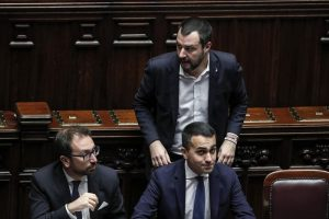 Luigi Di Maio, Salvini, Bonafede: ministri della giustizia manganello