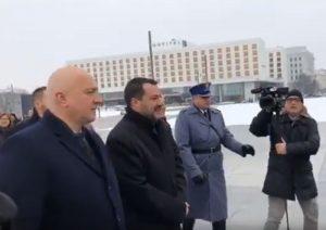 Salvini in Polonia