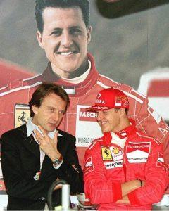 """Schumacher 50 anni. Montezemolo: """"Spero possa succedere qualcosa"""""""