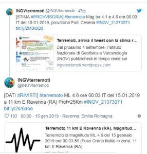Terremoto magnitudo 4.6 tra Ravenna e Cervia: paura tra Emilia Romagna e Veneto