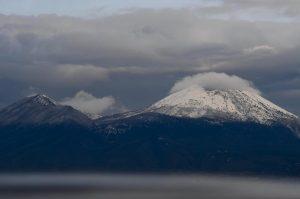 Vesuvio ricoperto dalla neve