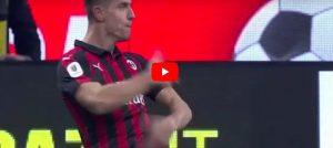 Fenomeno Piatek, Milan in semifinale di Coppa Italia: 2-0 al Napoli