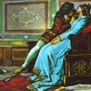 Bacio: nella vita sono 20 mila (meno di Celentano), Paolo e Francesca (nella foto) però...